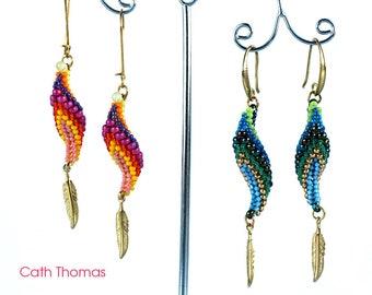 Parrot Earrings - Tutorial only - PDF