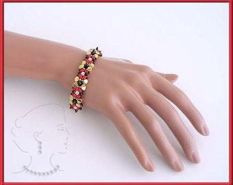 Instant download - Keira - Bracelet - Beaded Bead - Beading Pattern - RAW