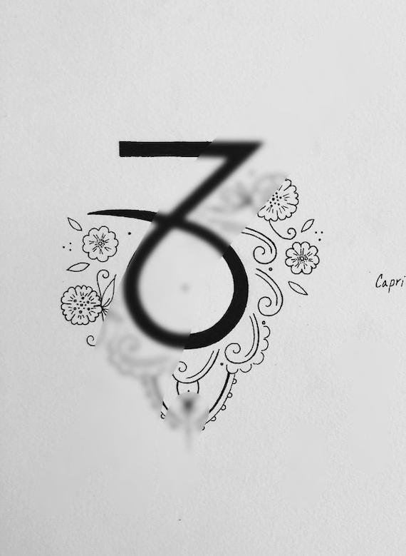 Capricorn Tattoo Design 1 2018