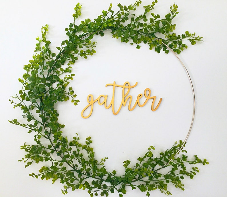 Gather Wreath for Thanksgiving Gather Wreath Holiday Home image 1