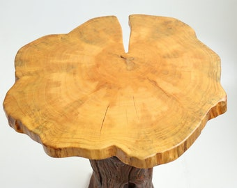 Cypress Cross Section Side or End Table Top