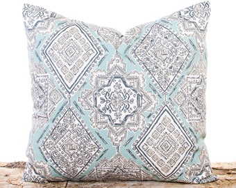 Teal Throw Pillow Covers Southwestern