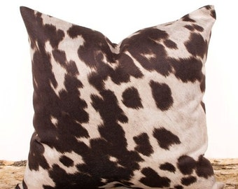Brown Throw Pillow Etsy