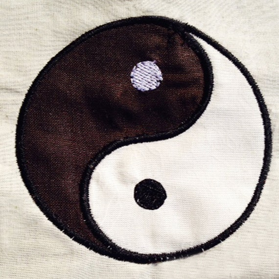 Simple Modern Yin Yang Chinese Symbol For Balance Etsy