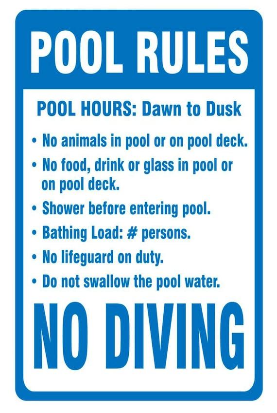 Schwimmen Regeln