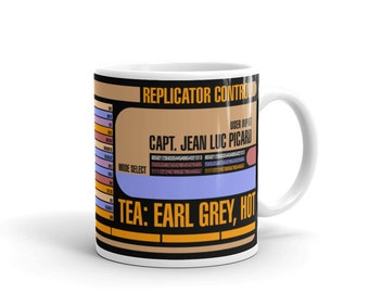 3db16277f4e Star Trek  The Next Generation - Captain Picard Tea Earl Grey Hot Mug