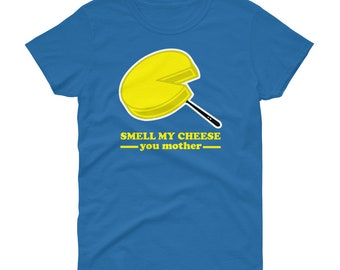 Mens Alan Partridge Sayings T-shirt Kiss My face smell my cheese back of the net
