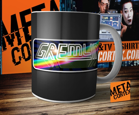 Retro Video Games Classic Computers Commodore Amiga Gremlin Graphics  Interactive Logo Mug