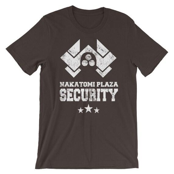 Sterben Sie schwer Nakatomi Plaza Sicherheit Film T shirt