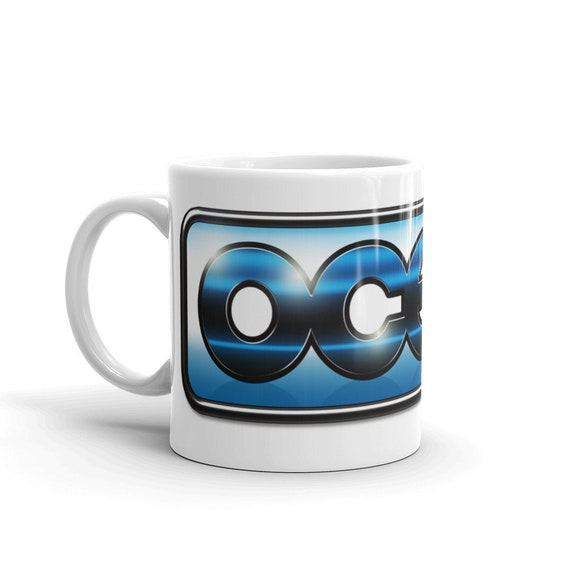 Retro Video Games Classic Computers Commodore 64 Ocean Software Logo Mug