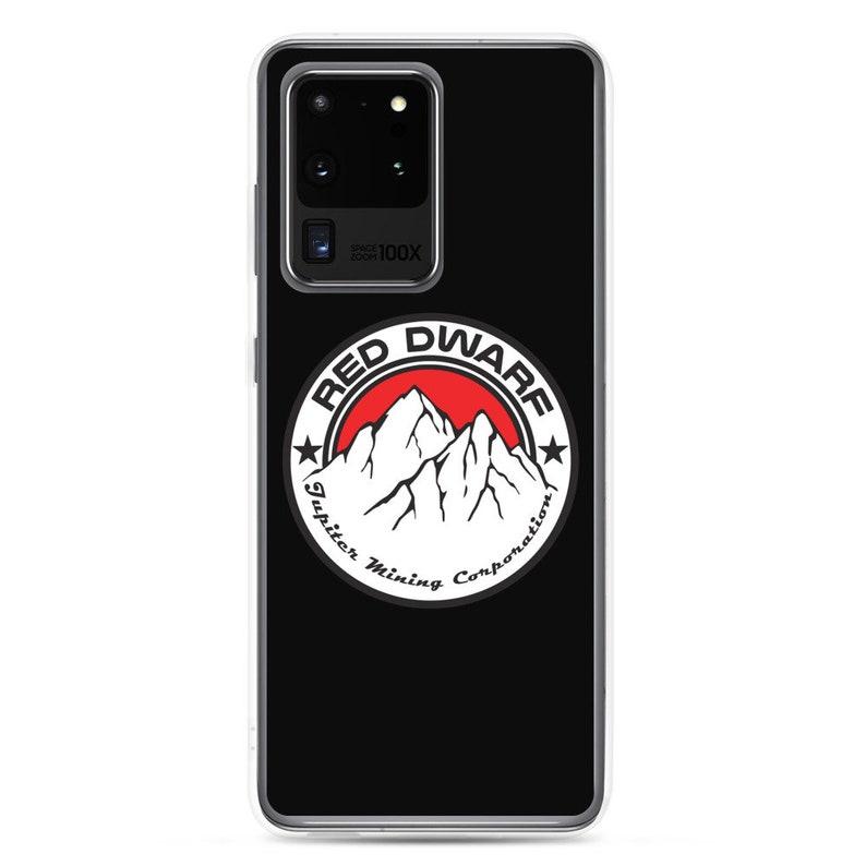 S10e  S20  Ultra  Plus Phone Case Red Dwarf TV Series JMC Jupiter Mining Corporation Logo Samsung Galaxy S10  S10