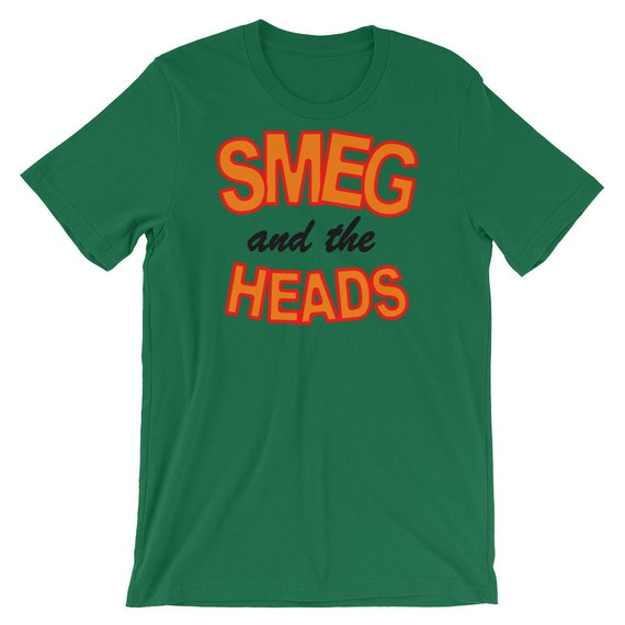 Red Dwarf Dave Lister Smeg and the Heads TV Series T-Shirt