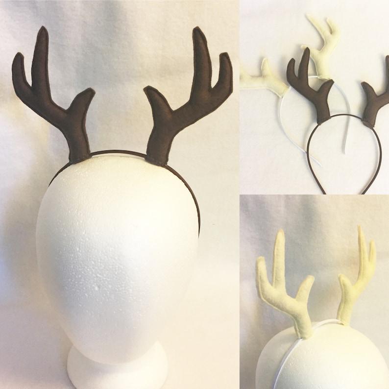 74abcde977e Antlers headband multiple colors deer antlers costume antlers