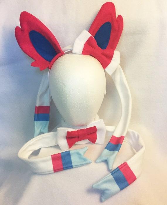 ALL 9 Eeveelution ears full set ears cosplay set eeveelution | Etsy