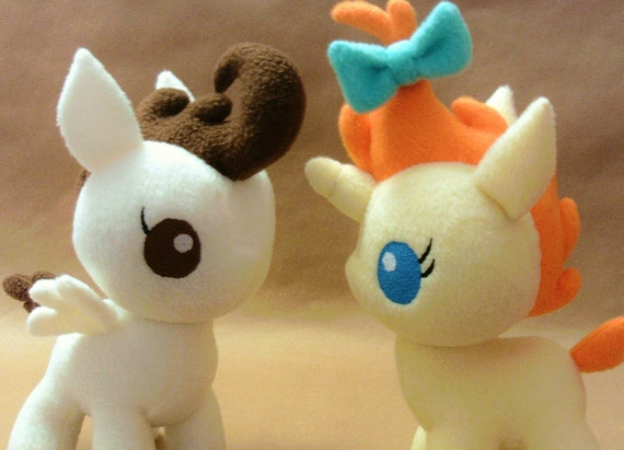 pumpkin cake and pound cake mlp friendship is magic etsy