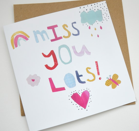 Dolly Pepper Studio, Greeting cards, Miss you, rainbow, Hooray, Birthday cards