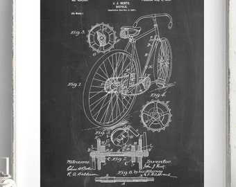 Racing Bicycle Poster, Cycling Art, Bicycle Print, Bicycle Art,PP0025