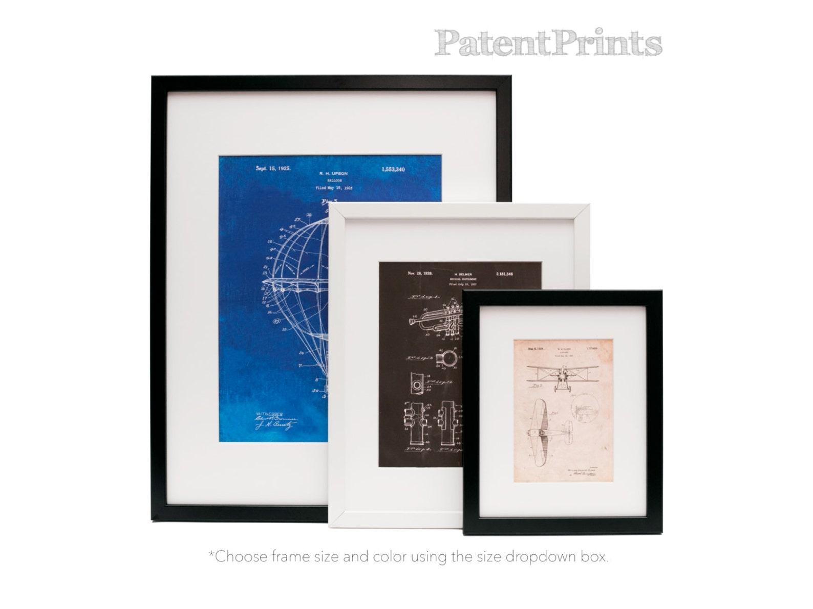ballet slipper patent poster, ballerina gift, dance studio, ballet shoe, ballerina artwork, pp0267