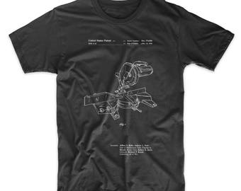Compound Miter Saw Patent T Shirt, Woodworking Tools, Unique Gifts for Dad, Outdoorsman, PP0956