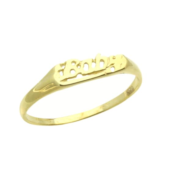 A103531-WHITE Customizable Women 14K Yellow Gold CZ Heart Celtic Claddagh Ring Band