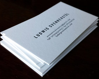 Letterpress business card finoprint by finoprint on etsy colourmoves