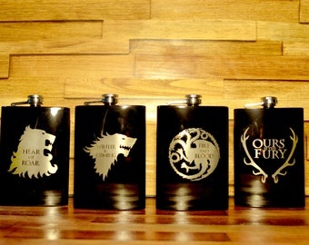 Game of Thrones Flask 8oz