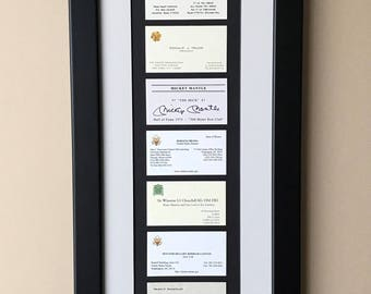 Frame Display Your Career Business Etsy