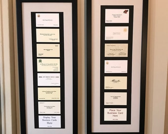 """NEW """" 7-8 """"Card """" Frames--Perfect Personalized Gift Solution, Doctor,Lawyer,Business Corporate,Retirement,Birthday,Professional"""