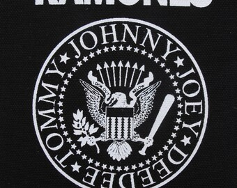 Ramones patch punk rock Free Shipping joey johnny dee dee