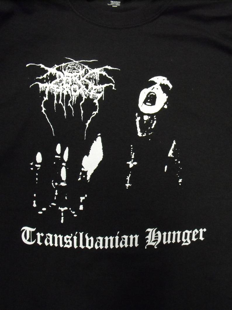 DARKTHRONE transilvanian hunger shirt black metal mutiilation mayhem