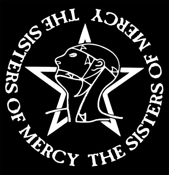 Sisters Of Mercy Shirt Goth Gothic Punk New Wave Joy Division Etsy