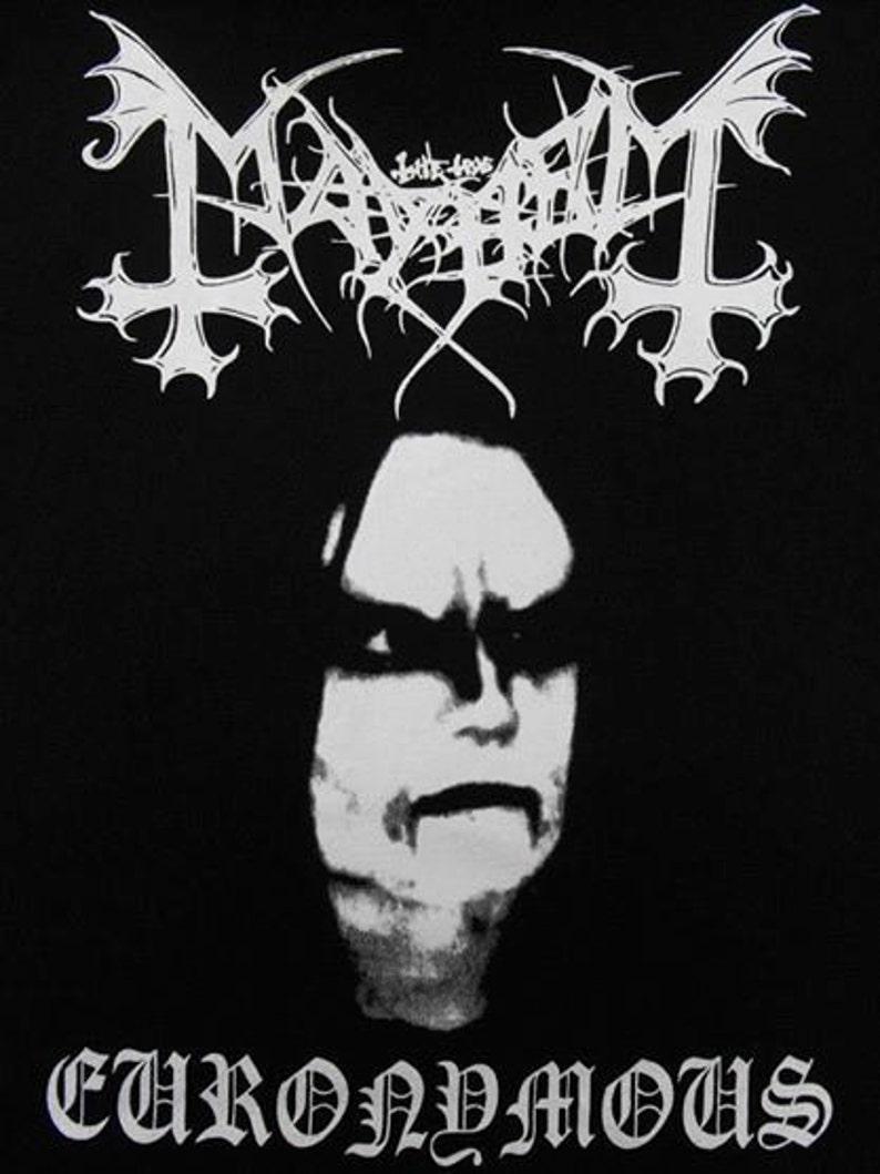 MAYHEM EURONYMOUS SHIRT black metal watain darkthrone burzum