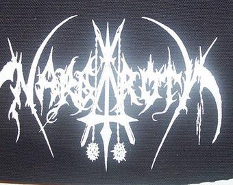 NARGAROTH logo patch black metal Free Shipping gorgoroth