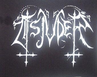 TSJUDER patch black metal Free Shipping