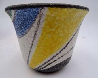 Ruscha Milano, 232 plant pot ceramic planter midcentury modernist 50s Cilli Woersdoerfer designclassics24