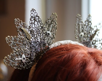 Steampunk Fairy~ Cute Headpiece Headdress Headband