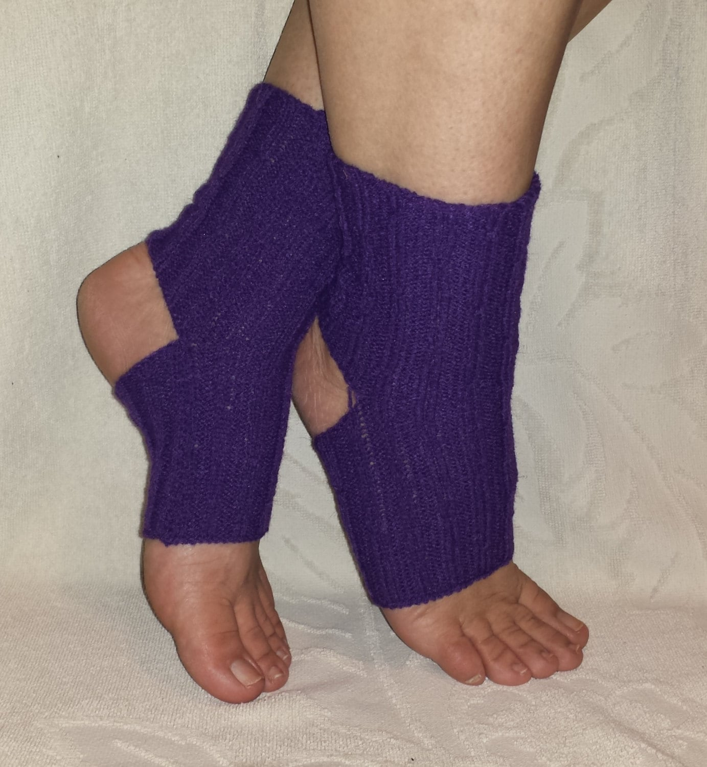 MACHINE KNIT PATTERN, Yoga Socks Pattern, Feet Savers Pattern, How ...