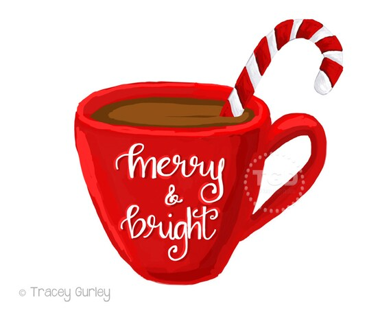 merry and bright hot cocoa clipart coffee cup clipart rh etsy com hot cocoa cup clipart hot cocoa clipart png