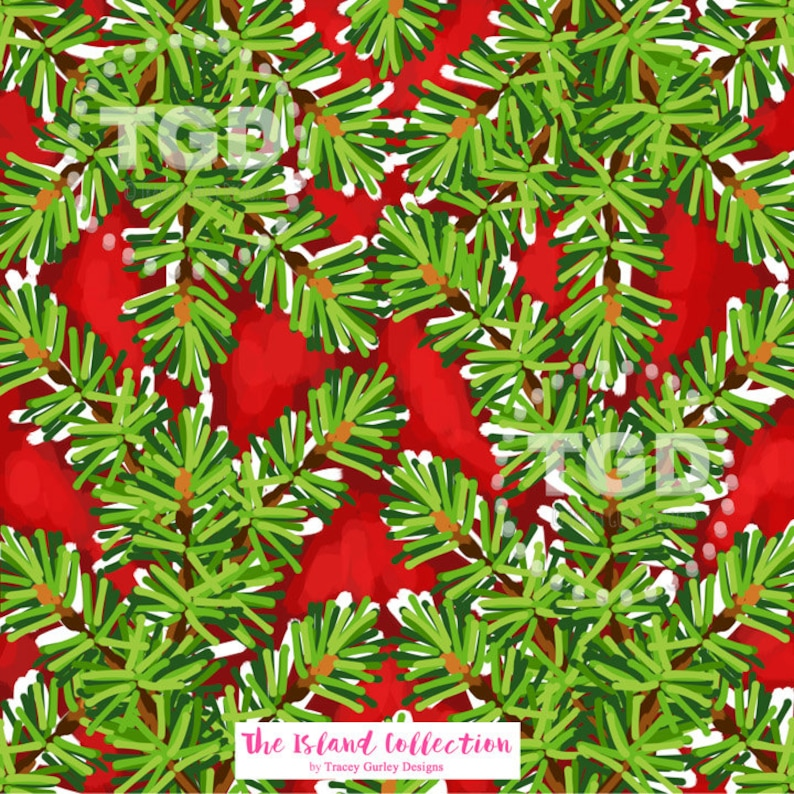 Christmas digital paper watercolor christmas clipart holiday image 0