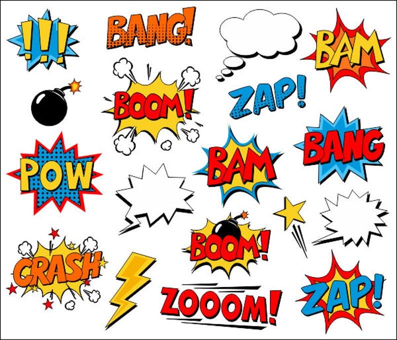 MAN BAG POW ZAP SUPERHERO MESSENGER BAG COMIC DESIGN BOOM MEDIUM WHAAM
