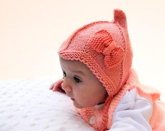 5e74f087d87cb5 ... promo code for pixie hat soft knit baby hat baby knit hat sizes from  newborn 4c5d0