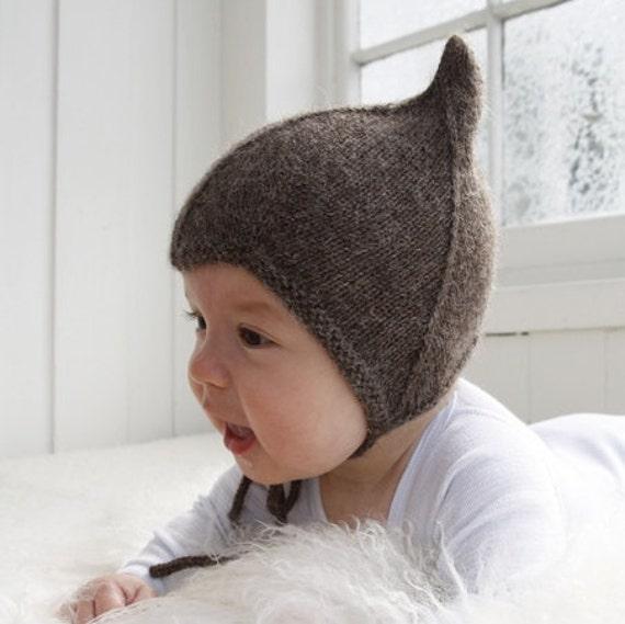 Elf Hut weiche stricken Babymütze Baby Strickmütze Größen | Etsy