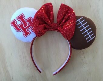 University of Houston Minnie Mouse Ears