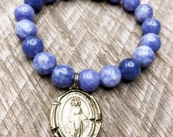 Miraculous medal bracelet