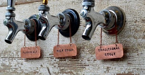 Copper Beer Tap Handle