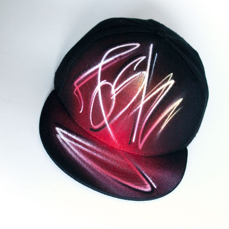 e4deb0af9f778 Custom airbrush snapback hat cool birthday gift for teens