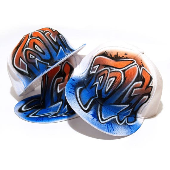 a9a555fa445 Custom TEAM Hats PERSONALIZED Team Hats new era airbrush