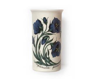 Vintage Vase Arabia Finland Esteri Tomula Campanula Persicifolia