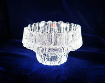 Vintage Iittala Candle Holder Votive Stellaria by Tapio Wirkkala