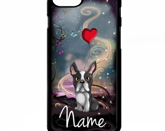 iPhone 6 Plus Boston Terrier Dog on Phone Case Gifts for Pet Lovers boston terriercase iPhone 6S boston terrier iPhone 8